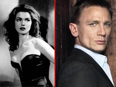 James Bond s-a insurat. Daniel Craig si Rachel Weisz au spus