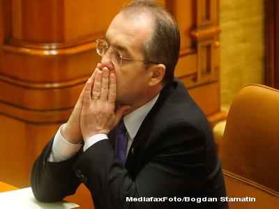 Boc: Legea salarizarii va fi trimisa Parlamentului lunea viitoare