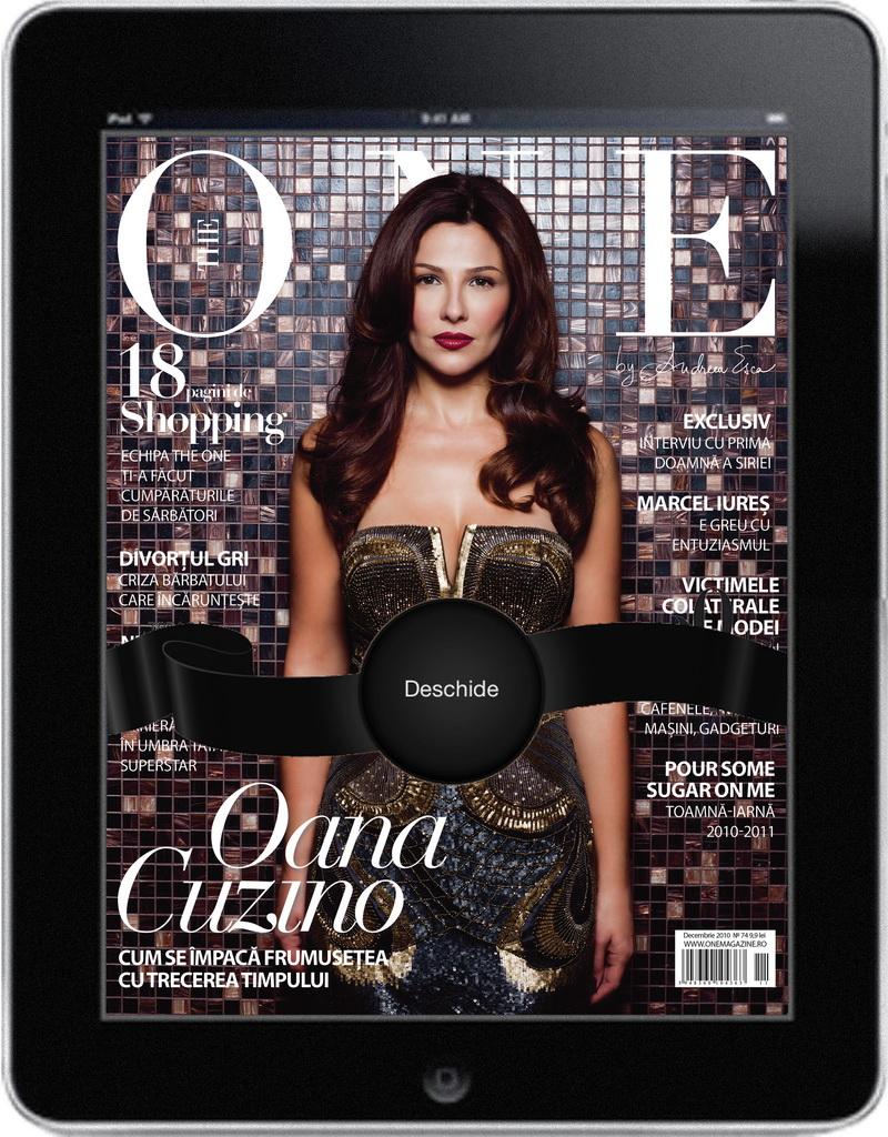 Revista The ONE pe iPad – premiera in Romania