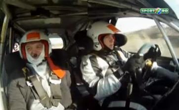 Adrenalina la maxim la Dementor Rally Show.Lucian Lipovan-senzatii tari intr-o masina de 80.000 euro