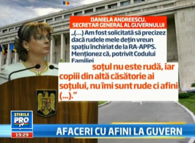 Explicatia naucitoare a secretarului general al Guvernului privind afacerile cu imobilele RA-APPS