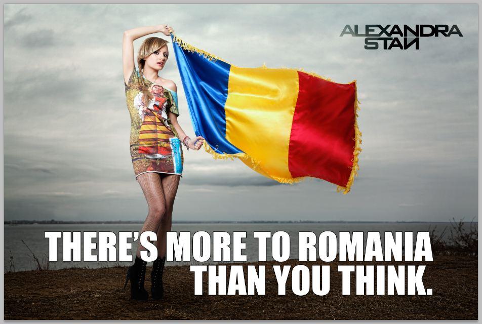 TU de ce iubesti Romania? Alexandra Stan: