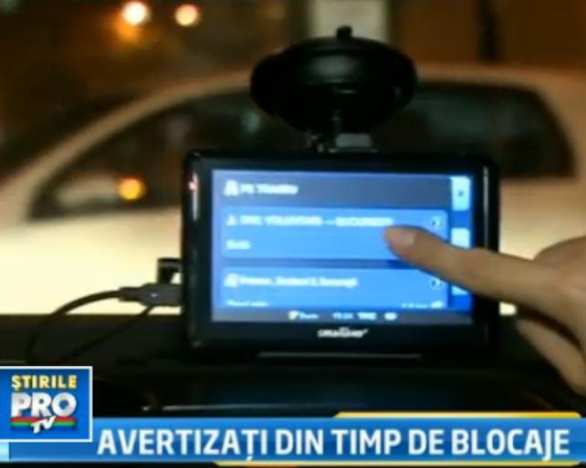 GPS-ul romanesc, mai inteligent. Anunta soferii de zonele cu ambuteiaje, dar si de rutele scurte