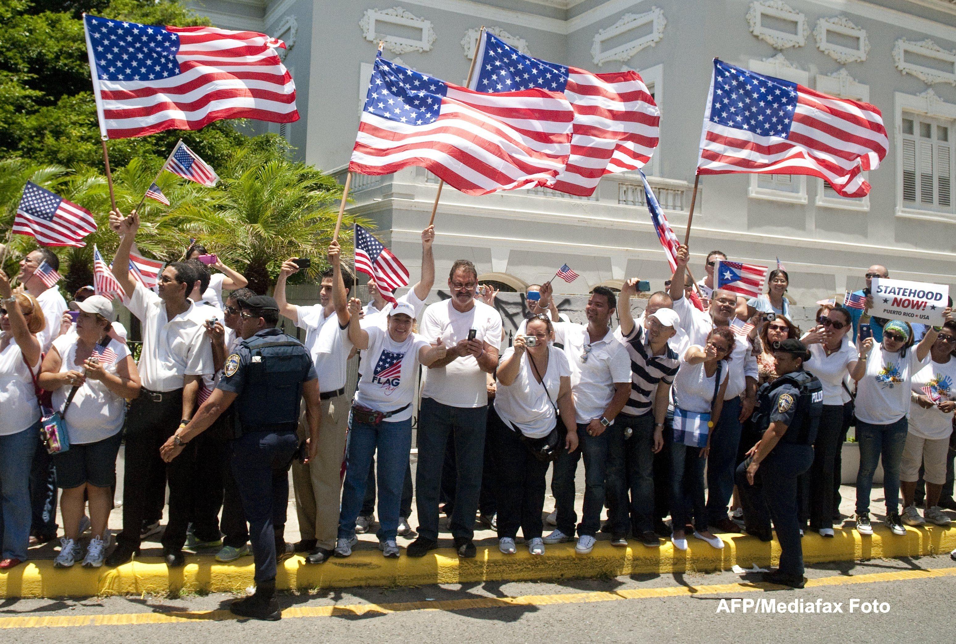 Al 51-lea stat pe harta SUA. Locuitorii din Puerto Rico au votat sa devina americani