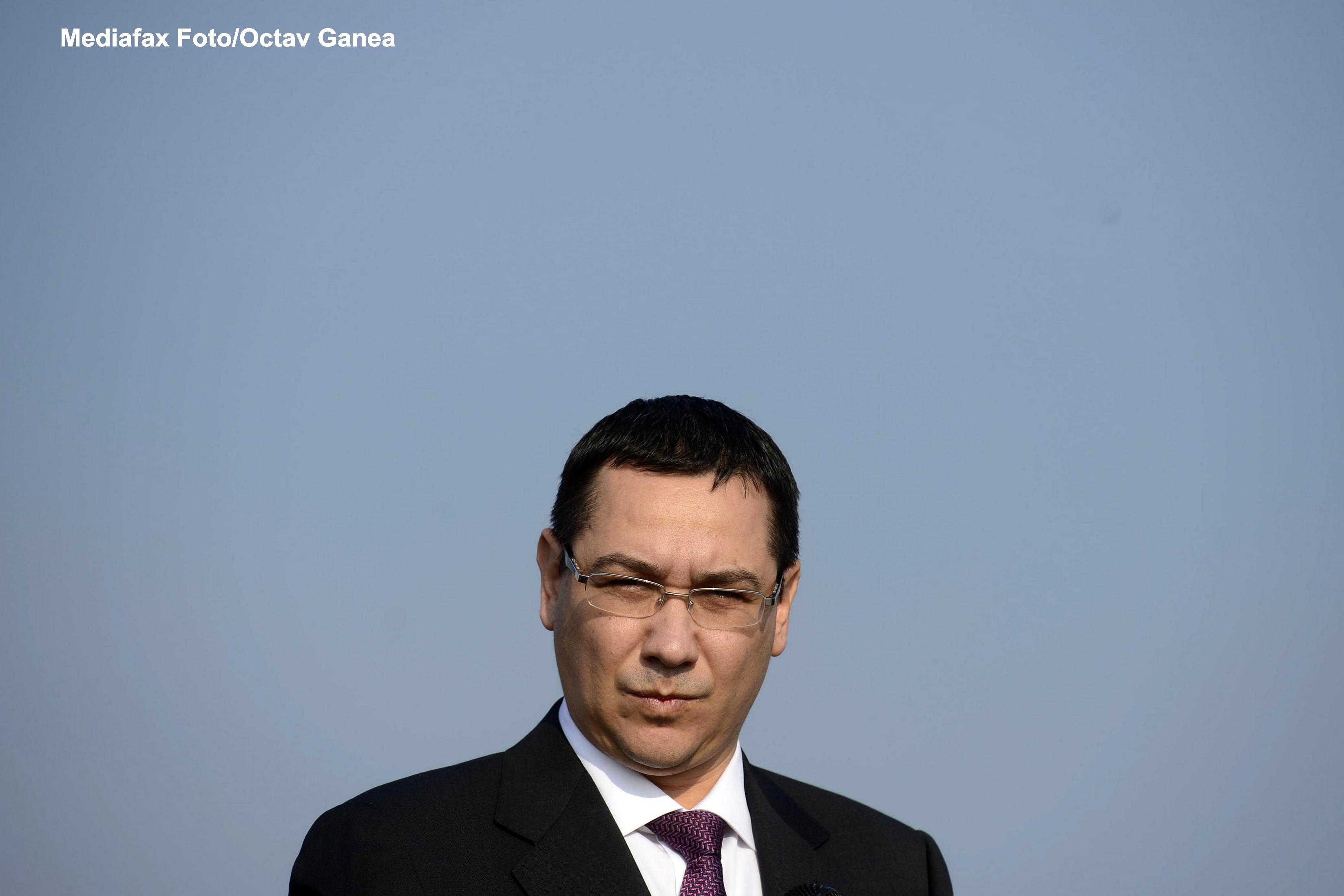 Ponta, despre pensiile speciale din politie si armata: