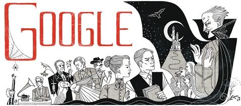 Google sarbatoreste 165 de ani de la nasterea lui Bram Stoker, autorul romanului