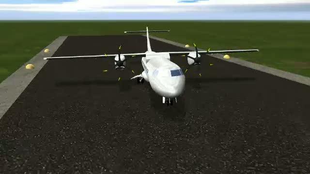 Zbor cu emotii pentru pilotii unui avion cargo. Unul din motoare s-a oprit in timpul zborului