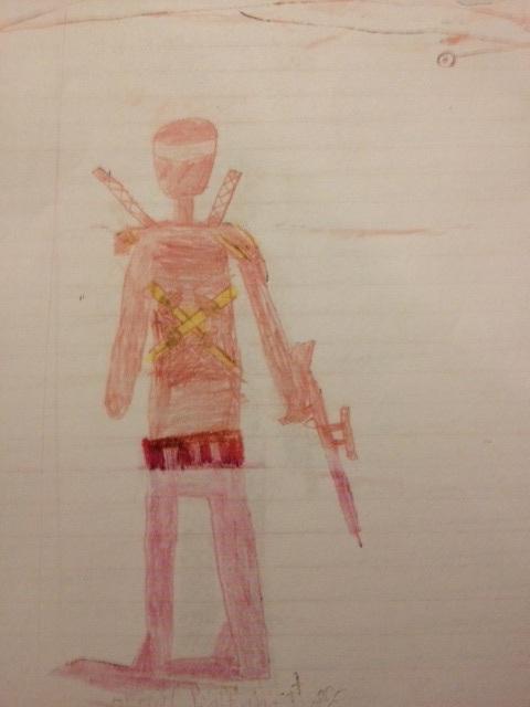 Un elev de 8 ani, amenintat cu exmatricularea, din cauza unor desene facute in caiet