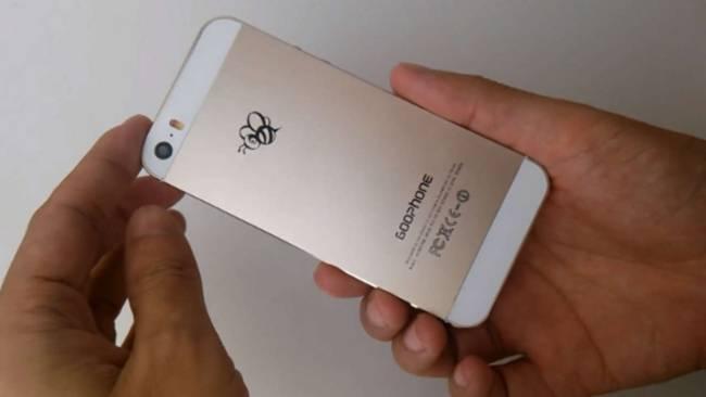 Cum arata copia din China de 145 de euro a lui iPhone 5S