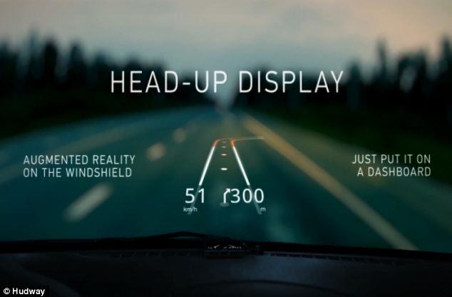 Aplicatia care transforma parbrizul masinii in ecran de navigatie. Hudway poate inlocui GPS-ul