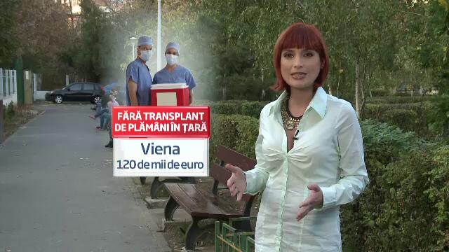 Povestea romanului care a facut dublu transplant de plamani. Cat a costat interventia