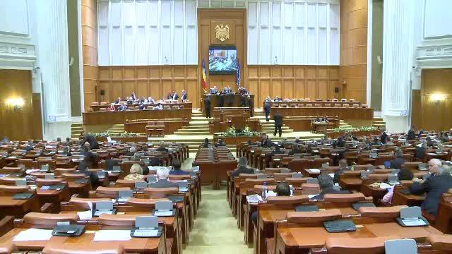 Motiunea de cenzura initiata de PNL, citita joi, in plenul Parlamentului. Anuntul facut de Valeriu Zgonea