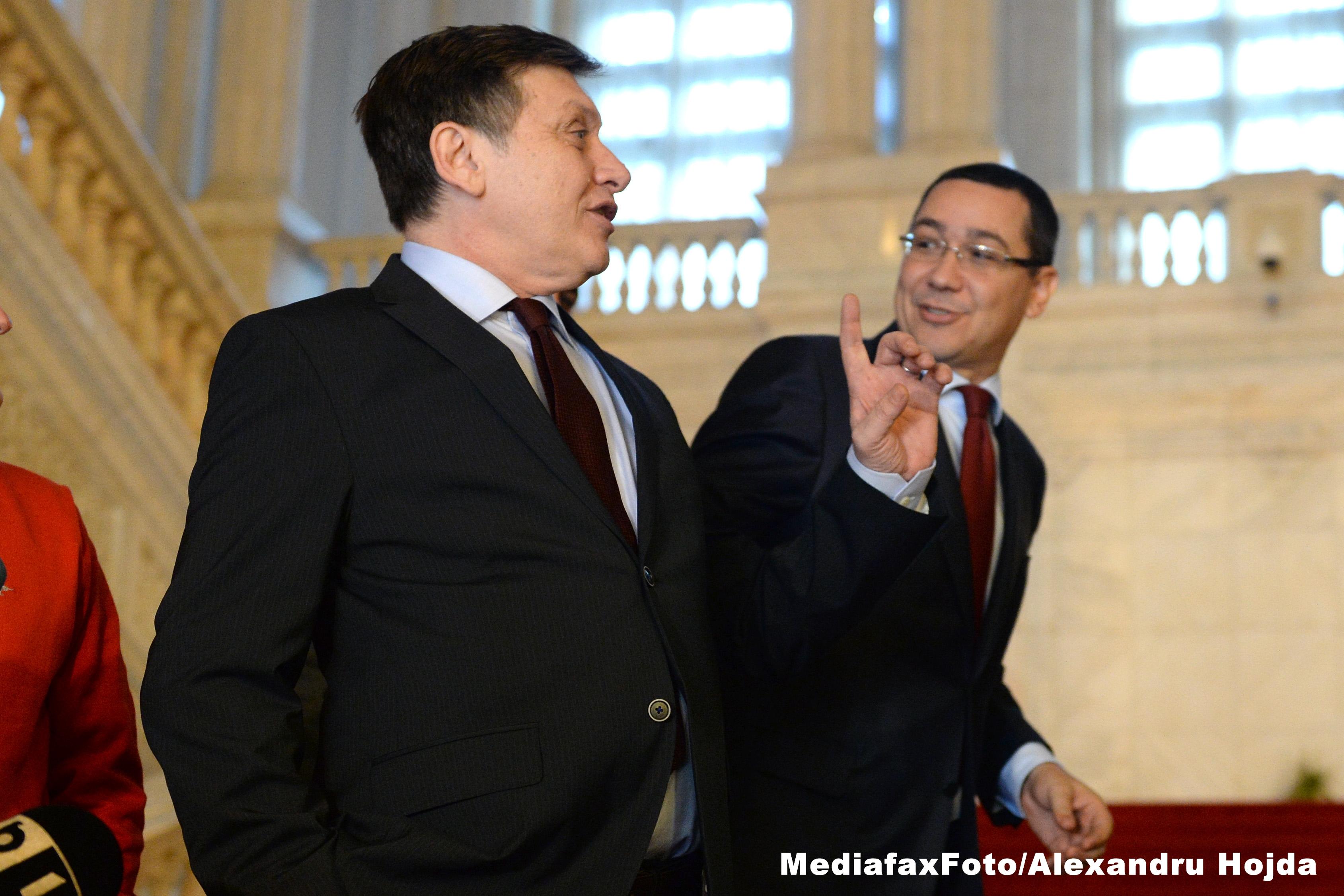 Antonescu: Implicarea lui Ponta si Dragnea in subiectul LPF n-a aratat bine, e o chestiune culturala