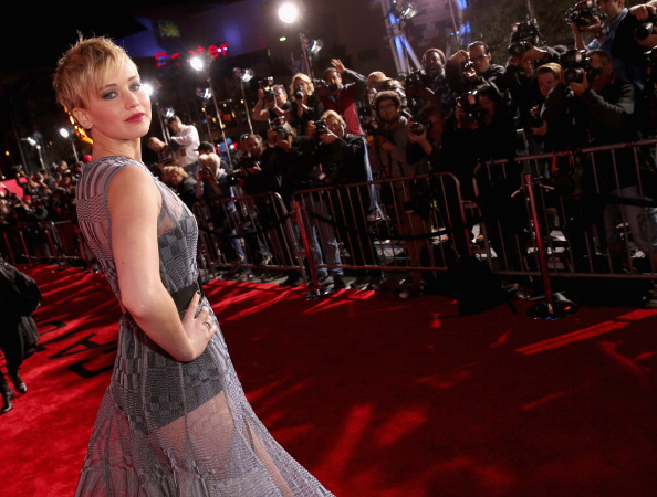 Jennifer Lawrence, aparitie indrazneata in Los Angeles.
