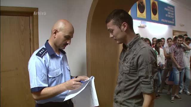 """Ziua Portilor Deschise la Scoala de Agenti de Politie """"Septimiu Muresan"""" din Cluj"""