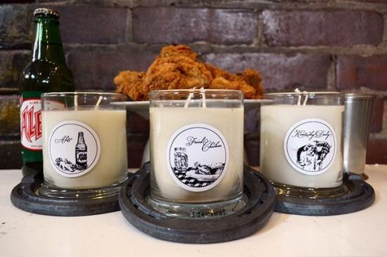 Un site din Statele Unite a scos la vanzare lumanari parfumate cu miros de KFC. FOTO