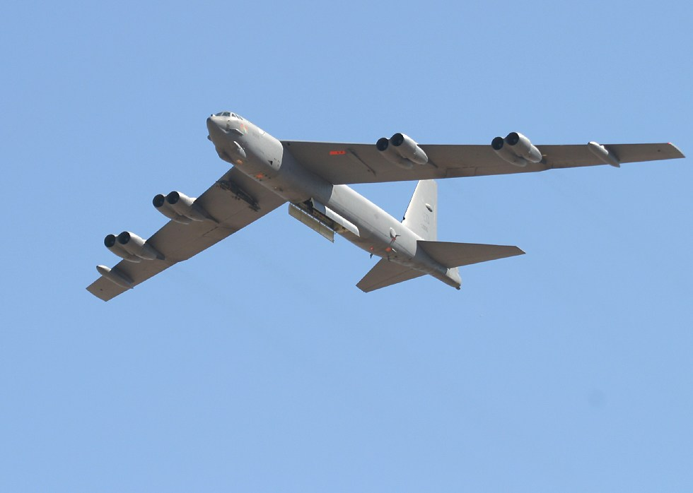 Doua bombardiere americane au patruns neautorizat in spatiul aerian al Chinei
