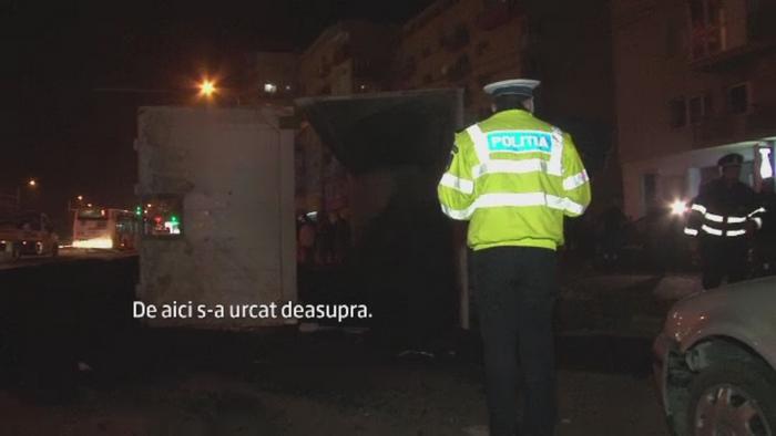 Un sofer baut a provocat un accident pe un bulevard din Suceava.