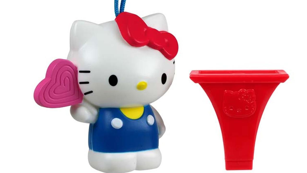 McDonald's retrage de pe piata 2.3 milioane de jucarii Hello Kitty. Motivul surprinzator al acestei decizii