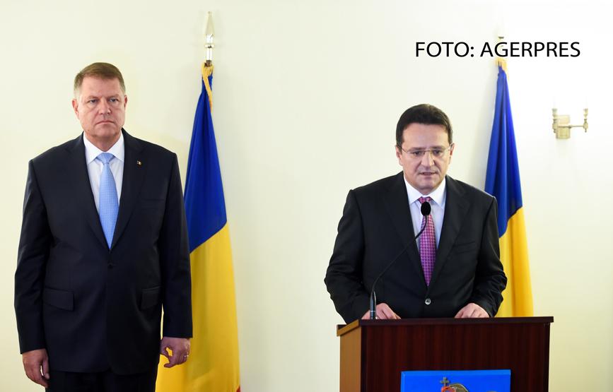 Klaus Iohannis a anunțat schimbarea lui George Maior din funcţia de ambasador în SUA