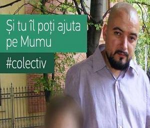 Mumu, colegul nostru ranit in Colectiv, are nevoie de sprijinul tuturor. Orice donatie il ajuta sa lupte in continuare