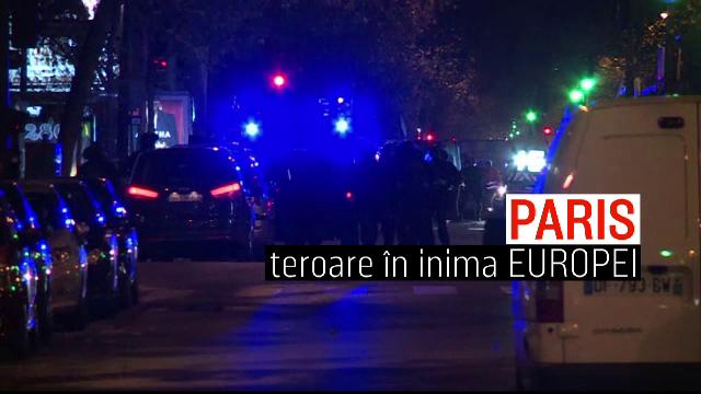 Corespondenta PRO TV din Paris: Orasul luminilor a ajuns orasul mortii. Masurile extreme luate de autoritati dupa atentat