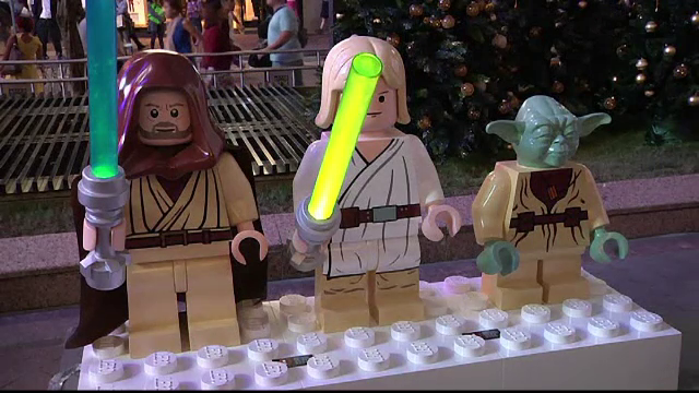 Darth Vader, Storm Troopers sau Yoda, varianta din LEGO.