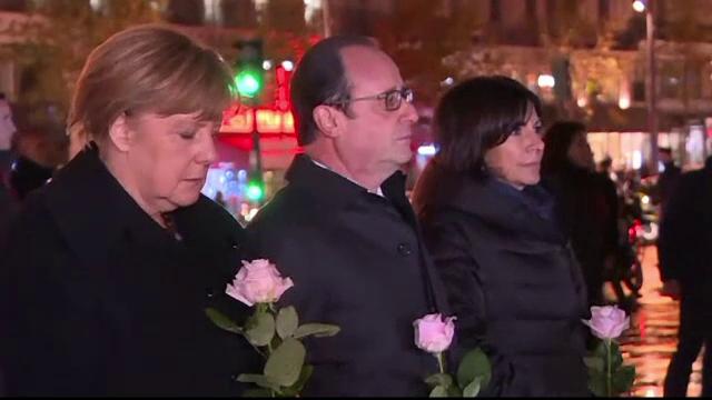 Francois Hollande cere Germaniei mai multa implicare in razboiul din Siria. Raspunsul precaut dat de Angela Merkel