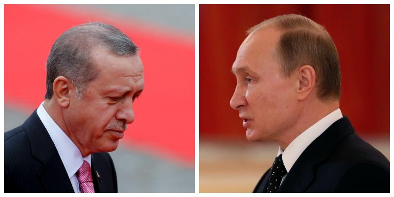 Rusia a trimis rachete antiaeriene S-400 in Siria, la 30 de Km de Turcia. Erdogan: L-am sunat pe Putin, dar nu mi-a raspuns