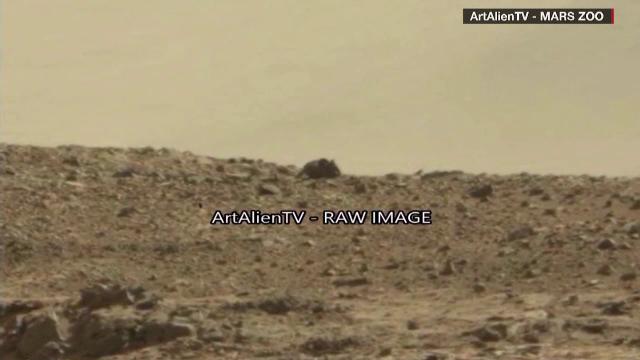 Obiectul misterios filmat de robotul Curiosity pe Marte. Ce au vazut mii de oameni in imaginile facute publice