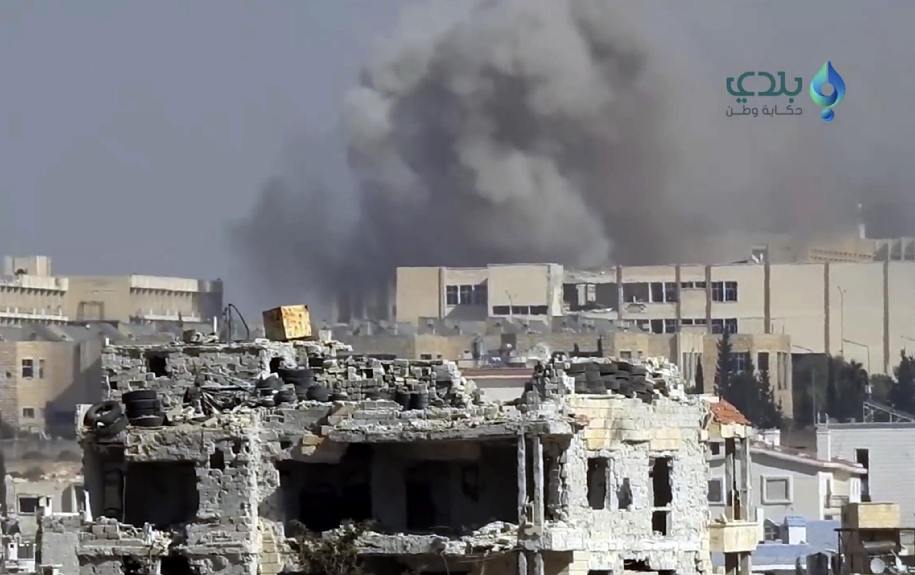 12 civili ucisi si alti 200 raniti, in atacuri cu rachete, in Alep. Rebelii refuza cererea Rusiei de a se retrage din Siria