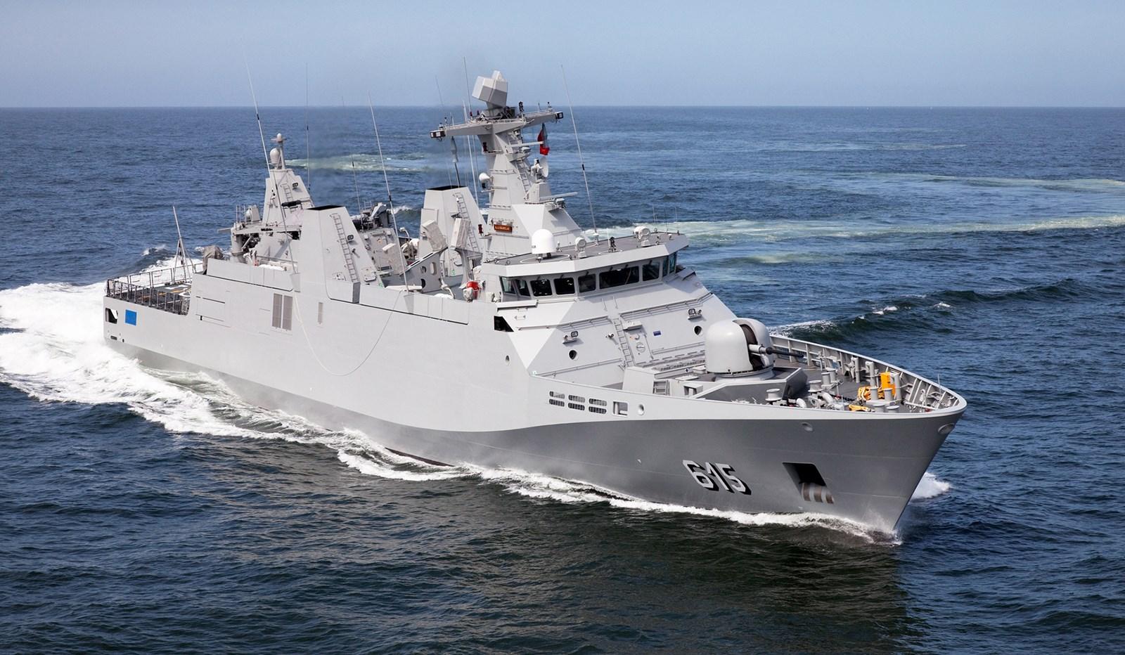 MApN vrea sa cumpere patru nave militare, construite de Santierul Naval Damen Galati. Costul proiectului: 4,3 mld de lei