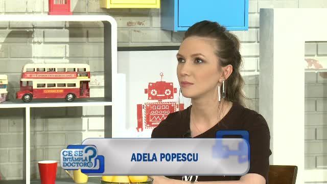 Proaspata mamica Adela Popescu: