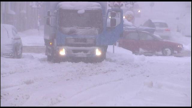 Capitala Suediei, paralizata de ninsori extreme. Stratul de zapada a ajuns la 39 de centimetri, un record in aceasta perioada