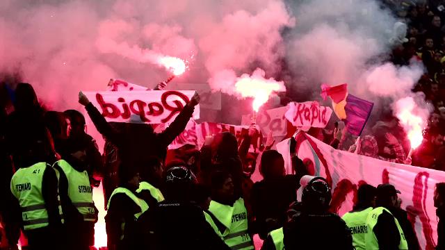 Sase polonezi si patru romani au primit interdictie de a mai intra pe stadion dupa incidentele de la meciul cu Polonia