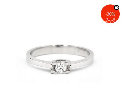 Oferta senzationala la inele de logodna cu diamant