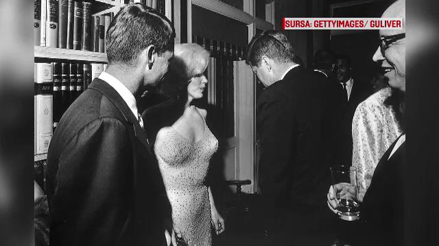 Rochia in care Marilyn Monroe i-a cantat