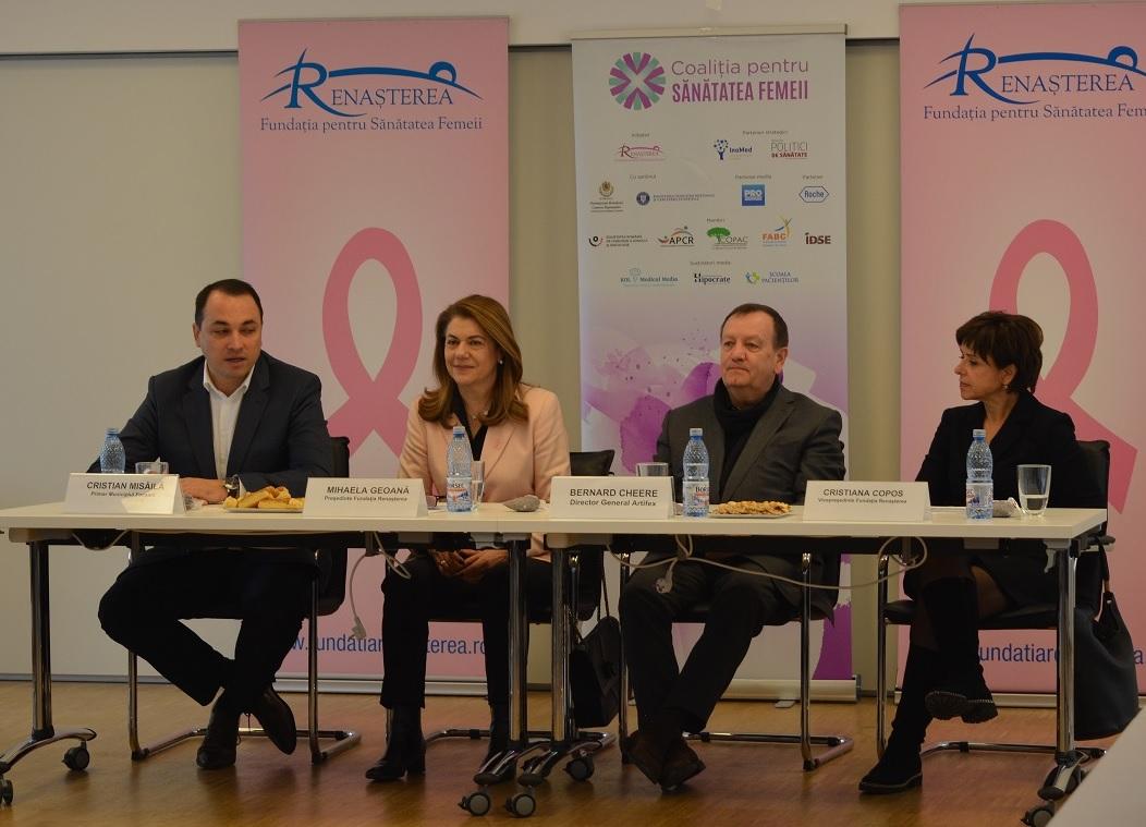 Testari gratuite pentru depistarea precoce a cancerului de san si a celui de col uterin pentru femeile din Focsani