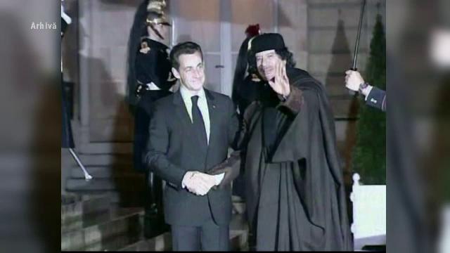 Nicolas Sarkozy, acuzat ca ar fi primit valize cu bani de la Muammar El Gaddafi. Reactia acestuia:
