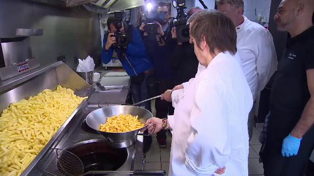 Celebrii cartofi prajiti belgieni ar putea ajunge in patrimoniul UNESCO.