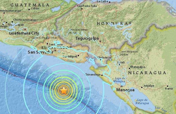 Cutremur cu magnitudinea 7, resimtit in Nicaragua si El Salvador. Alerta de tsunami a fost ridicata