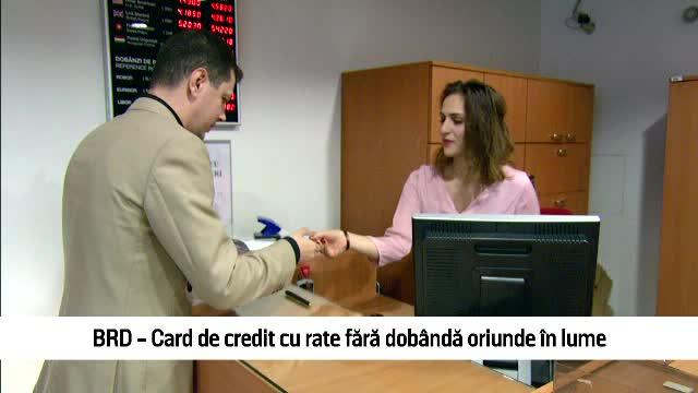 (P) BRD a lansat noile carduri de credit Standard si Gold. Ai 18 rate cu dobanda zero