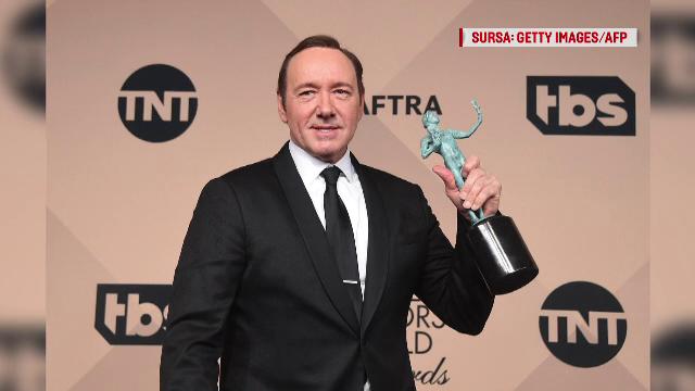 Internaţional TV Academy a anunțat că retrage trofeul Emmy pentru Kevin Spacey