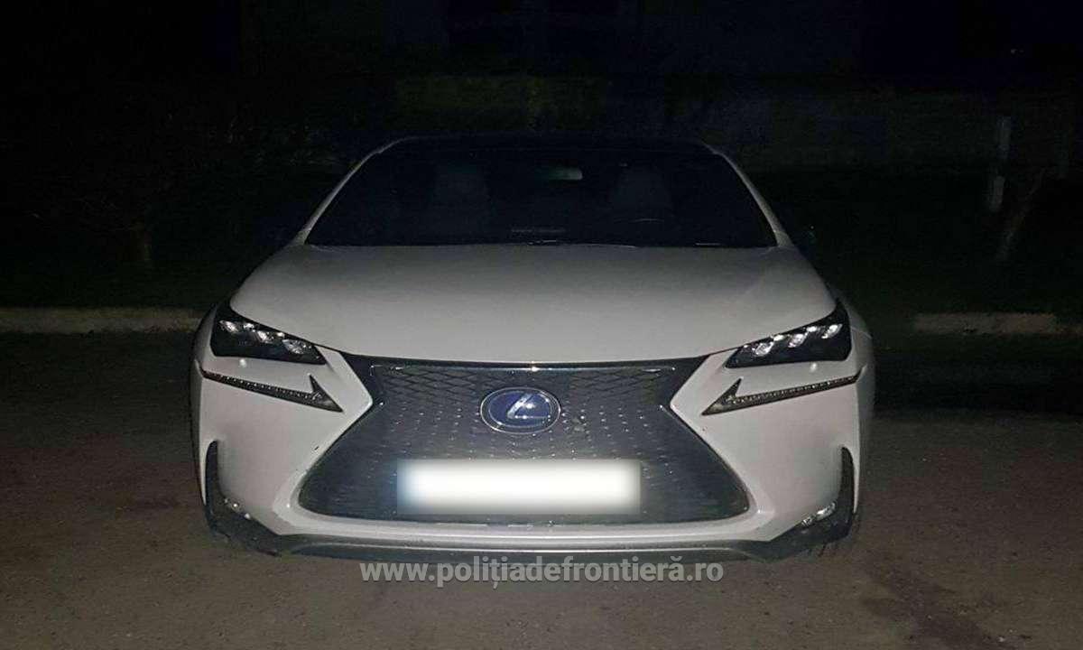 Surpriza de proporții pe care au avut-o polițiștii de frontieră din Iași când au oprit un Lexus la control