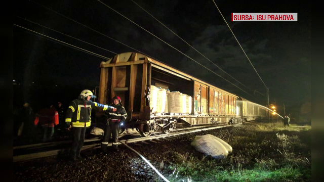 Anchetă în cazul trenului de marfă plin cu azotat de amoniu, care a fost la un pas să explodeze în gara Breaza