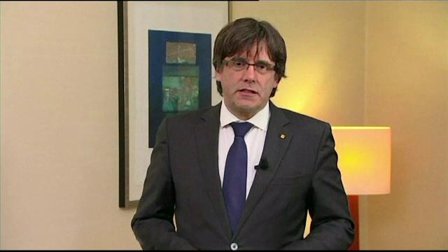Mandat european de arestare pe numele lui Puigdemont. Proteste în Catalonia