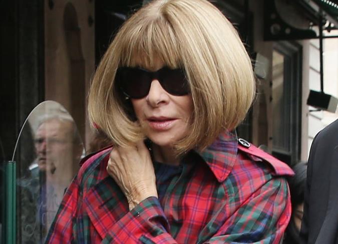 Anna Wintour, influentul editor şef al Vogue, desemnată cea mai puternică femeie