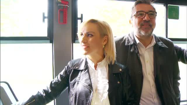 Gabriela Firea și ministrul Culturii au mers cu RATB-ul:
