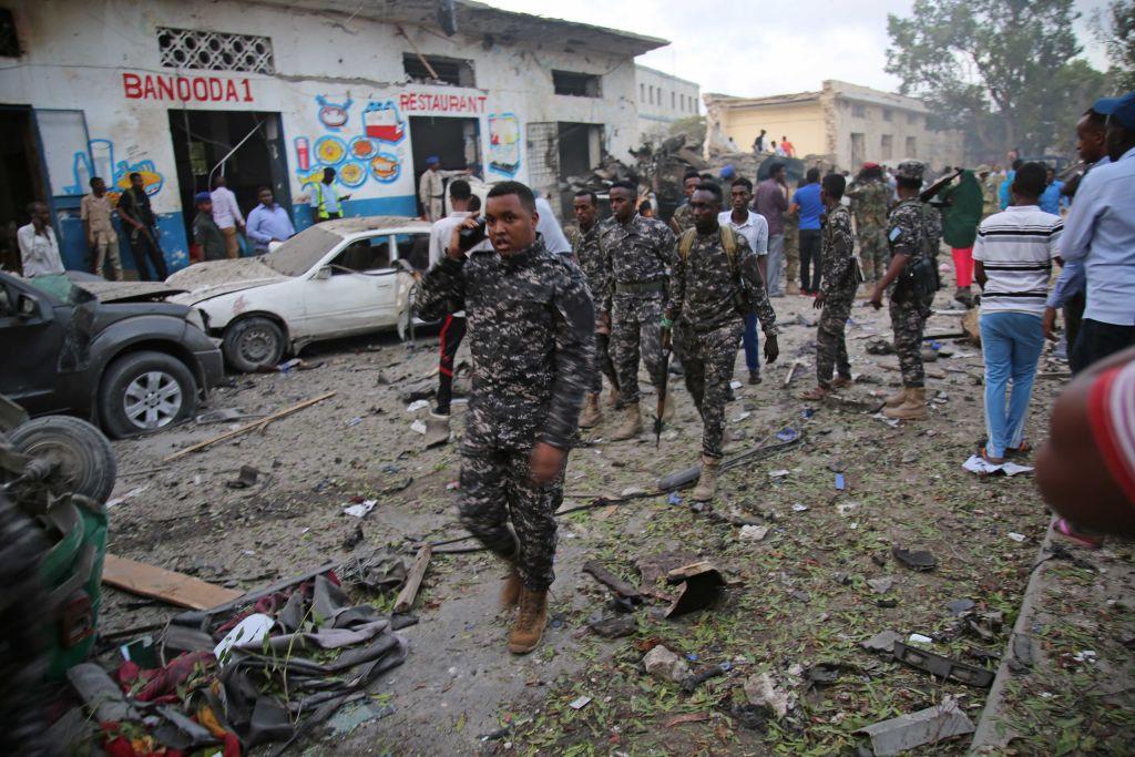 Ambasada SUA din Somalia, în pericol după primele atacuri aeriene