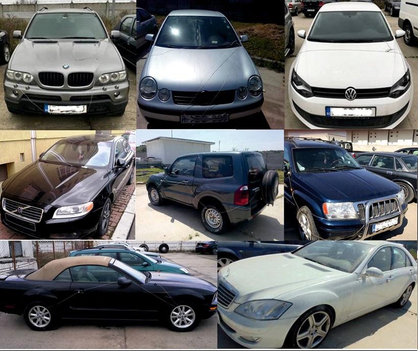ANAF vinde maşini cu nici 2.000 de lei. Cât cere Fiscul pe un Lexus confiscat